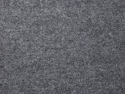 English Pure Wool Coating Dress Fabric  Grey