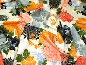 Floral Print Cotton Lawn Dress Fabric  Multicoloured