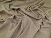 Wool Coating Fabric  Beige