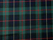 Woven Plaid Check Twill Suiting Dress Fabric  Multicoloured