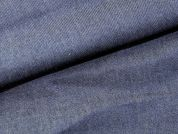Plain Woven Chambray Denim Dress Fabric  Blue