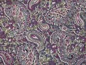 Cotton Lawn Fabric  Mauve