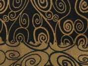 Reversible Woven Brocade Dress Fabric  Bronze