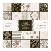 DoCrafts Midnight Blush Paper Pack  Black & White