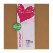 DoCrafts KraftStax Paper Pack  Brown