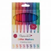 DoCrafts Glitter Marker Pens  Assorted Colours