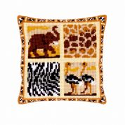 Vervaco Cross Stitch Cushion Kit Africa 2