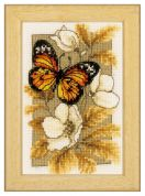 Vervaco Counted Cross Stitch Kit Butterfly 1