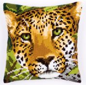 Vervaco Cross Stitch Cushion Kit Leopard