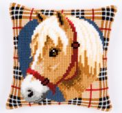 Vervaco Cross Stitch Cushion Kit Pony