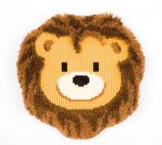 Vervaco Cross Stitch Cushion Kit Lion