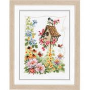 Vervaco Counted Cross Stitch Kit The Bird House