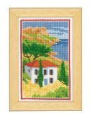 Vervaco Counted Cross Stitch Kit Countryside View 3