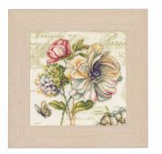 Vervaco Counted Cross Stitch Kit Marche De Fleurs Ii