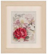 Vervaco Counted Cross Stitch Kit Rose