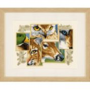 Vervaco Counted Cross Stitch Kit The Eyes Have It 1