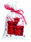 Vervaco Counted Cross Stitch Kit Pot Pourri Bag Presents