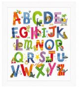 Vervaco Counted Cross Stitch Kit Animal Alphabet