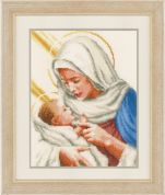 Vervaco Counted Cross Stitch Kit Maria And Jesus
