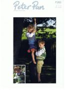 Peter Pan Childrens Tank Tops Knitting Pattern 1001  DK