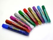 Amos Glitter Glue Pen  Assorted Colours