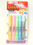 Amos Pearl Glitter Glue  Assorted Colours