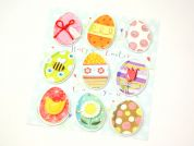 Handmades 3D Stickers for Creative Crafts Easter Eggs