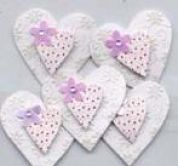 Hearts Embellishments