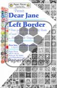 Dear Jane Left Border Paper Piece Pack