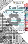 Dear Jane Right Border Paper Piece Pack