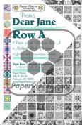 Dear Jane Row A Paper Piece Pack