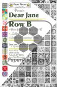 Dear Jane Row B Paper Piece Pack
