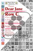 Dear Jane Row C Paper Piece Pack