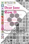 Dear Jane Row D Paper Piece Pack