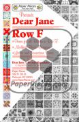 Dear Jane Row F Paper Piece Pack