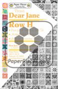 Dear Jane Row H Paper Piece Pack