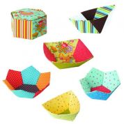 Paper Pieces Bowls English Paper Piecing Pattern & Paper Pieces