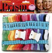 DMC Prism Friendship Bracelet Craft Threads Jumbo Pack  Assorted Colours