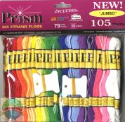 DMC Prism Floss Craft Threads Jumbo Pack  Assorted Colours