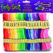 DMC Prism Friendship Bracelet Floss Craft Threads Party Pack  Assorted Colours