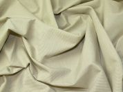 Lady McElroy Stretch Suiting Fabric  Putty