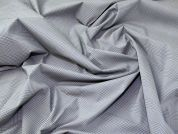 Lady McElroy Stretch Shirting Fabric  Grey