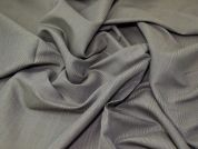 Lady McElroy Cotton Linen Suiting Fabric  Grey