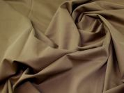Lady McElroy Soft Touch Suiting Fabric  Brown