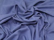 Lady McElroy Brushed Twill Fabric  Smoke Blue