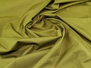 Lady McElroy Cotton Twill Fabric  Moss Green