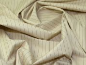 Lady McElroy Cotton Shirting Fabric  Camel