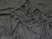Lady McElroy Viscose Jersey Knit Fabric  Marl Grey