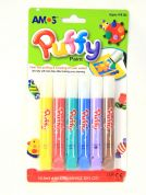 Amos Puffy Paint  Assorted Colours
