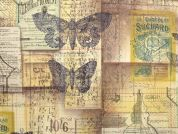 Free Spirit Tim Holtz Eclectic Elements Melange Quilting Fabric